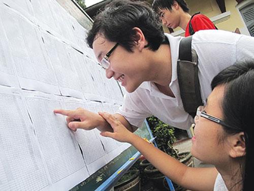 Điểm chuẩn tuyển sinh tất cả các trường đại học trên cả nước